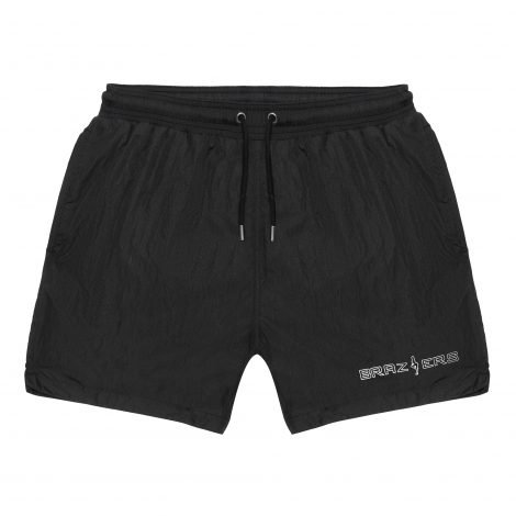 Brazzers Abella Danger men's swim shorts black with net lining and pockets