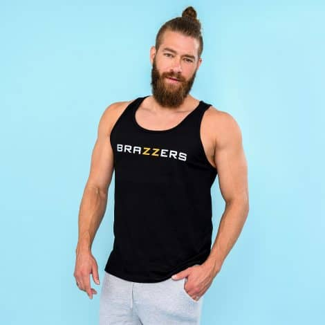 brazzers men's classic tank top