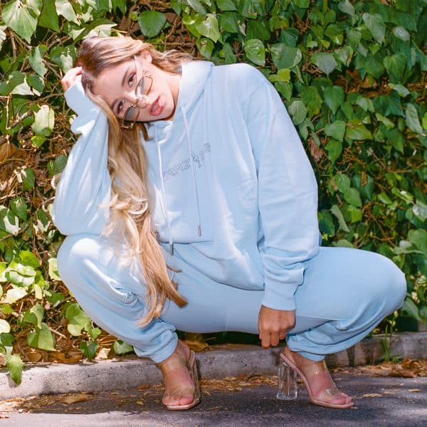 brazzers abella danger hoodie baby blue